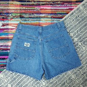 Vintage Lee Dungarees High Waisted Jean Shorts